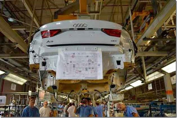 Audi já monta A3 Sedan no Brasil