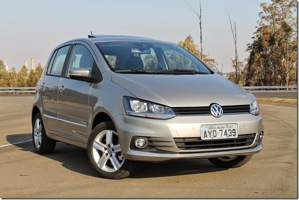 Volkswagen convoca 3.785 unidades de Fox e CrossFox para recall