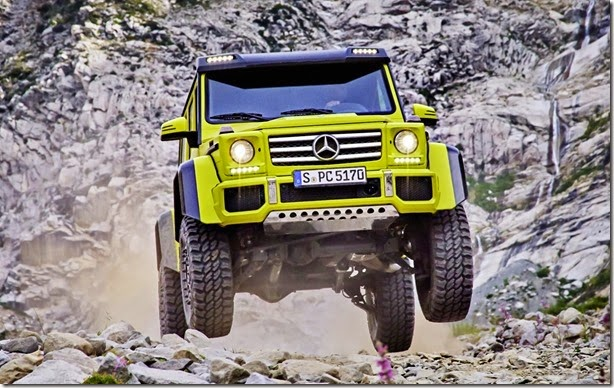 Mercedes-Benz G500 4×4² – Lutador superlativo sim, senhor!