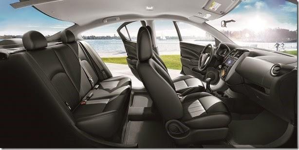 Nissan mostra interior do New Versa fabricado no Brasil