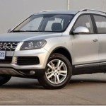 Clone do Volkswagen Touareg, Yema T70 aparece na China