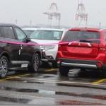 Mitsubishi Outlander é flagrado com visual atualizado no Japão