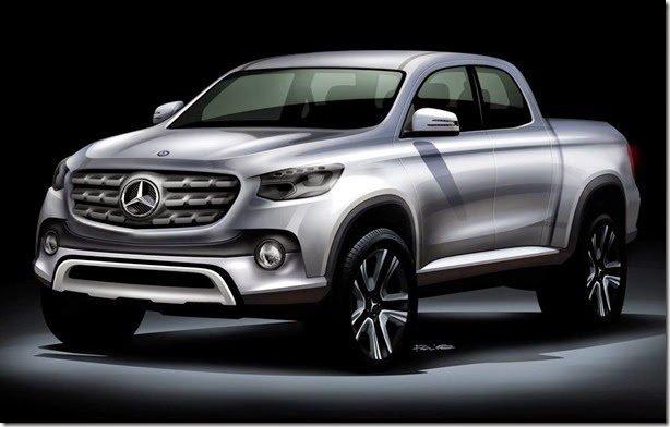 Mercedes quer lançar picape média até 2020