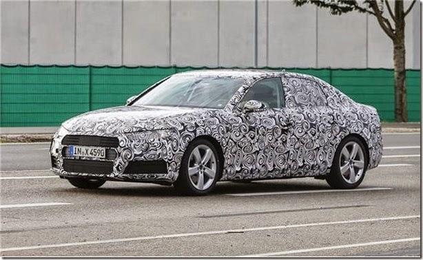 Audi confirma novo A4 e três novos SUV's
