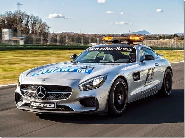 Mercedes-AMG GT S é o novo Safety Car da Fórmula 1