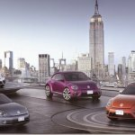 Volkswagen revela quatro conceitos do Fusca para o Salão de Nova York