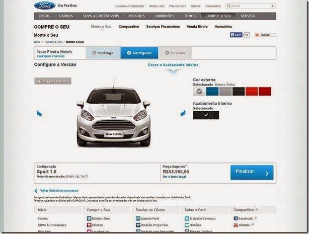 Ford Fiesta Sport já é oferecido por R$ 58.990