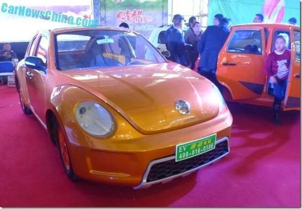 Que tal um VW Fusca ou um BMW i3 'made in China'?