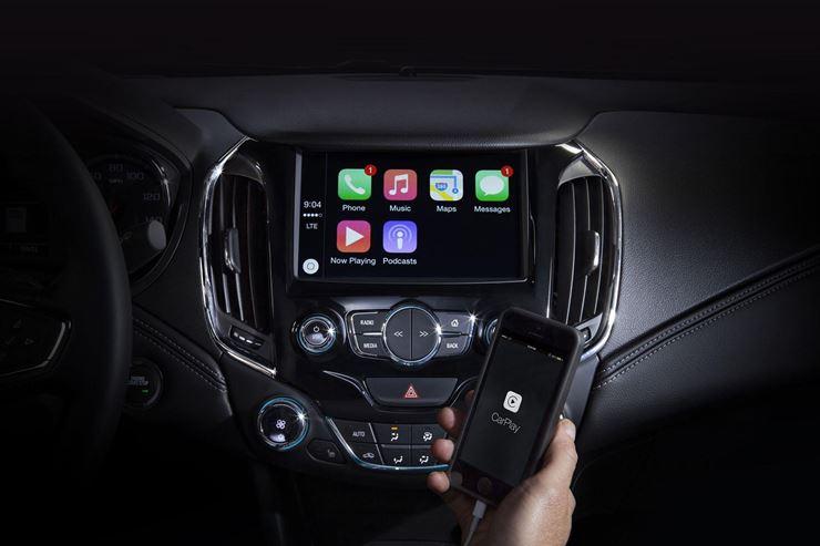 Teaser mostra interior do Chevrolet Cruze 2016 com novo MyLink