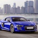 Audi apresenta R8 e-tron autônomo em Xangai
