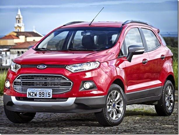 Ford altera potência de motores de New Fiesta e EcoSport por menos emissões