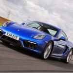 Porsche Boxster e Cayman terão motores de quatro cilindros em 2016