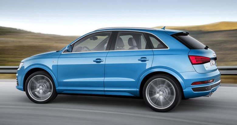 Audi Q3 ganha motor 1.4 TFSI e visual renovado na linha 2016