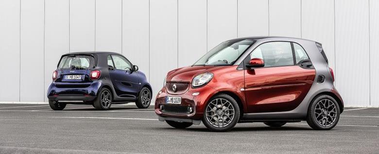 Smart descarta produção de crossover e roadster