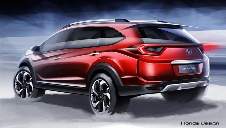 Honda antecipa o novo crossover conceitual BR-V