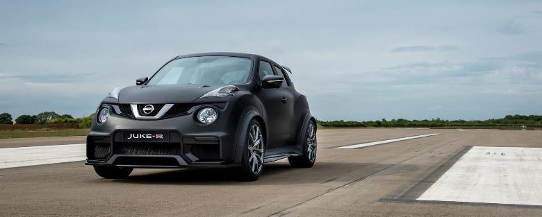 Nissan Juke-R é revelado e leva o mesmo motor do GT-R Nismo