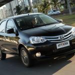 Toyota Etios 2017 terá câmbio automático de quatro marchas