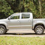 Com motor flex e câmbio automático, Toyota Hilux SRV é picape de passeio