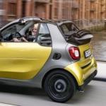 ForTwo Cabrio é o novo membro da família Smart