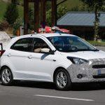 Novo Ford Ka é flagrado em testes na Europa