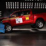 Primeira picape do Latin NCAP, nova Toyota Hilux recebe cinco estrelas