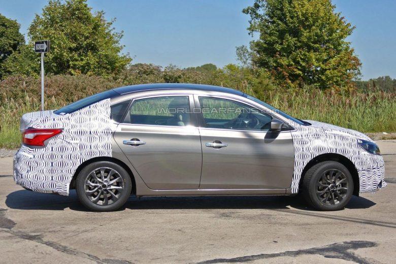 Nissan Sentra terá reestilização em 2016