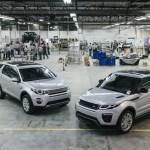 Range Rover Evoque também será fabricado em Itatiaia