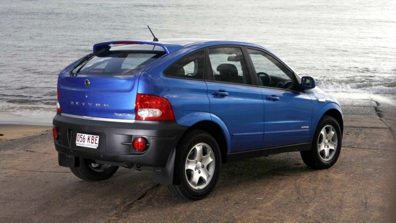 2007 Ssangyong Actyon.