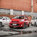 Nissan March e Versa 2017 têm mudanças na gama de versões