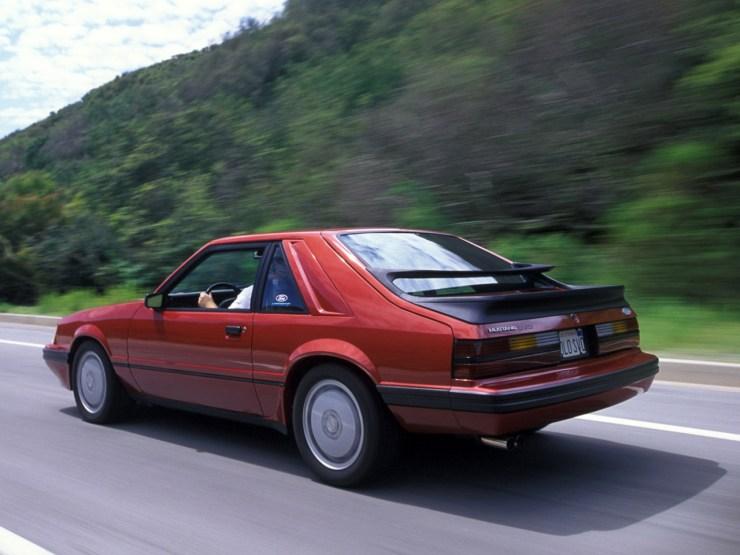 1984 Ford Mustang SVO. Photo Credit: David Newhardt/ Mustang - Forty Years