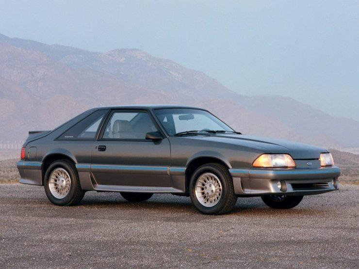 Mustang GT V8, pós-1987