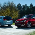 Chrysler Pacifica, substituto do Town & Country, é mostrado em Detroit