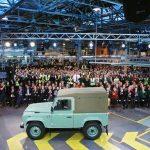 Produção do Land Rover Defender chega ao fim