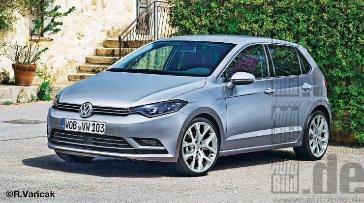 Projeção do Volkswagen Polo 2018