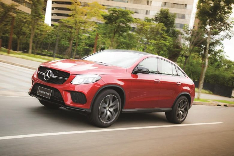 Mercedes-Benz GLE Coupé é lançado no Brasil