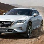 Exclusivo para a China, Mazda CX-4 aparece em Pequim