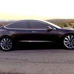 Tesla Model 3 é apresentado e virá para o Brasil