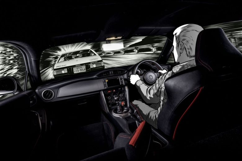 Toyota presta tributo ao Initial D com conceito baseado no GT86