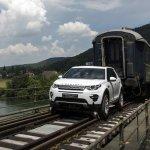 Discovery Sport traciona trem de 100 toneladas na Suíça