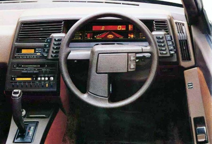 Subaru XT Alcyone instrument panel