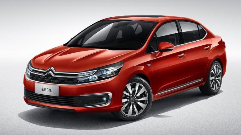 Esta é a nova cara do Citroën C4 Lounge na China