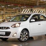 Nissan March e Versa ganham câmbio CVT na linha 2017