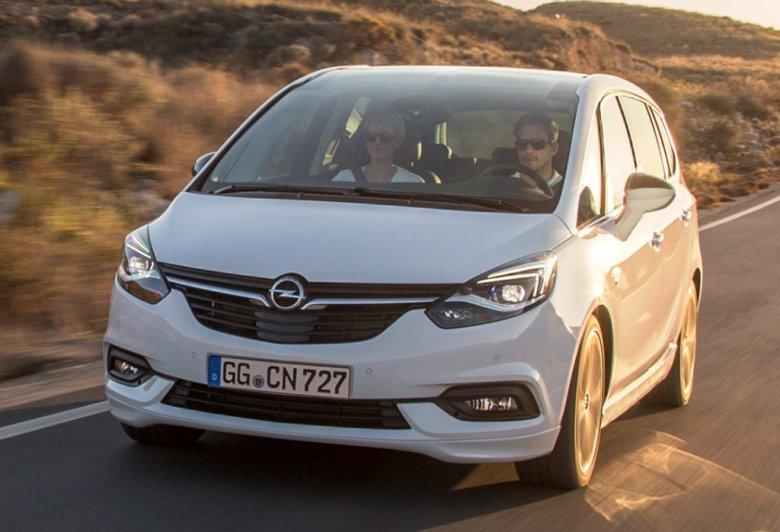 Opel Zafira se renova na Europa