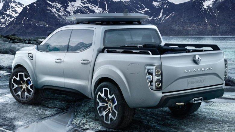 Versão de produção da Renault Alaskan será apresentada amanhã.
