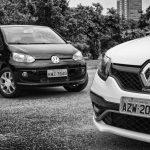 Volkswagen Up! TSI ou Renault Sandero RS? – Diversão em jogo