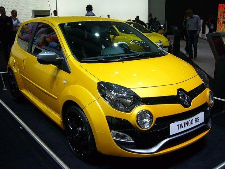 Geração anterior do Twingo contou com versão RS