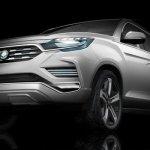 SsangYong mostra versão conceito da próxima geração do Rexton