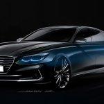 Imagens antecipam nova geração do Hyundai Azera