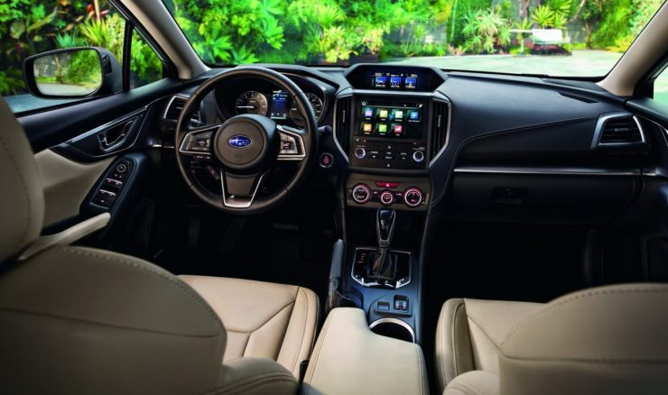 Interior - Subaru Impreza 2016
