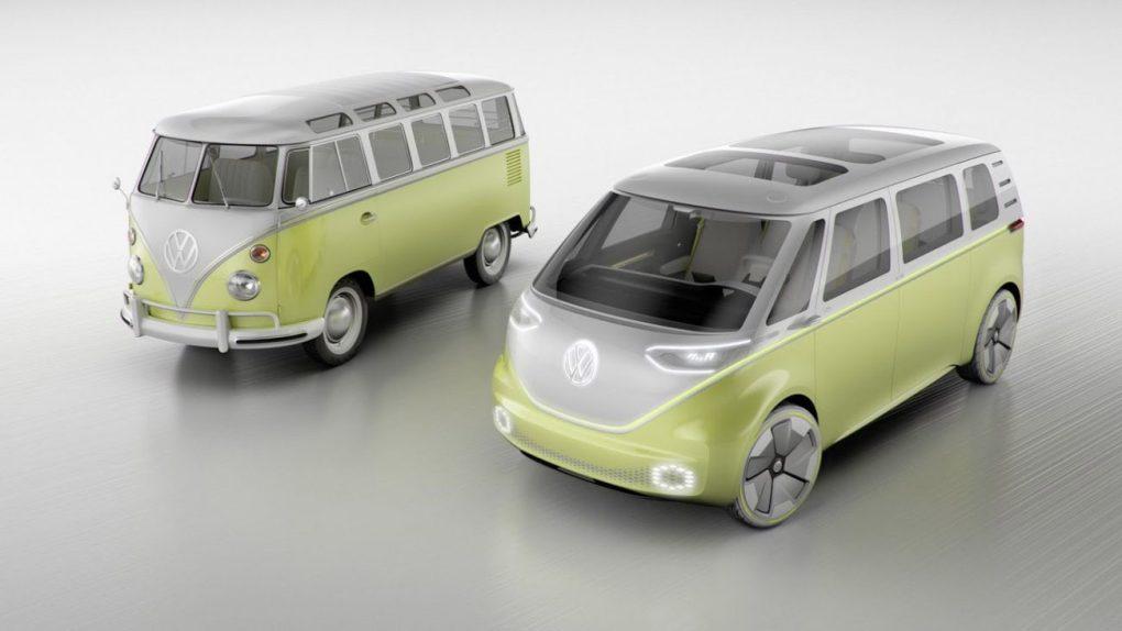 Salao De Detroit Vw I D Buzz Concept E A Kombi Do Futuro